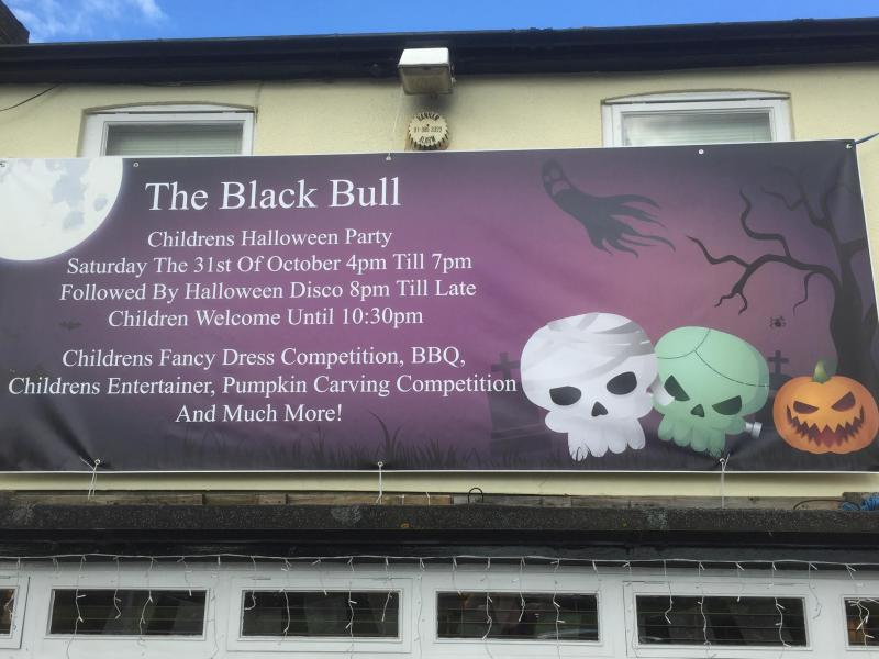 Halloween at the Black Bull